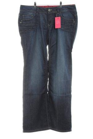 Esprit Jeans met rechte pijpen blauw casual uitstraling