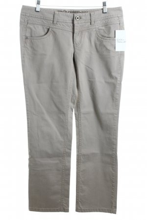 Esprit Straight-Leg Jeans beige Casual-Look
