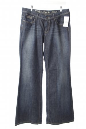 Esprit Straight-Leg Jeans blau Washed-Optik