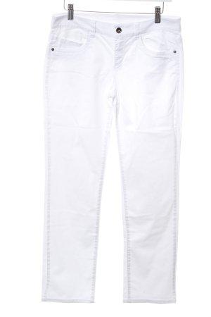 Esprit Straight-Leg Jeans weiß Casual-Look