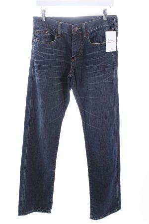 Esprit Straight-Leg Jeans dunkelblau