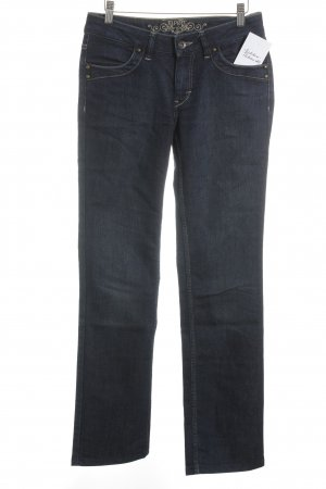 Esprit Straight-Leg Jeans dunkelblau Street-Fashion-Look