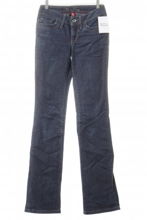 Esprit Straight-Leg Jeans dunkelblau Street-Fashion-Look