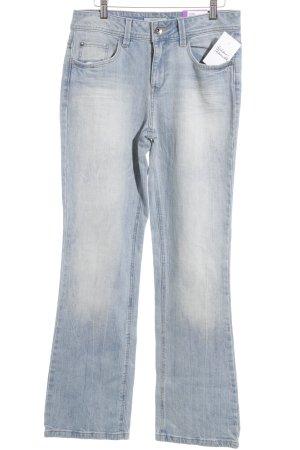 Esprit Straight-Leg Jeans graublau-hellblau Casual-Look
