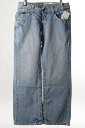 Esprit Straight-Leg Jeans hellblau Casual-Look