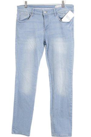 Esprit Straight-Leg Jeans hellblau-himmelblau Casual-Look