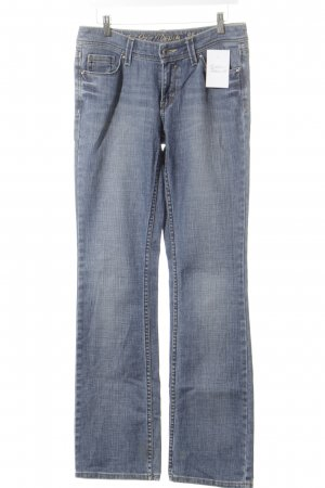 Esprit Straight-Leg Jeans hellblau Street-Fashion-Look