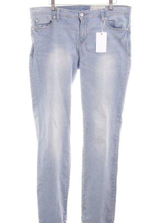 Esprit Jeans met rechte pijpen azuur casual uitstraling
