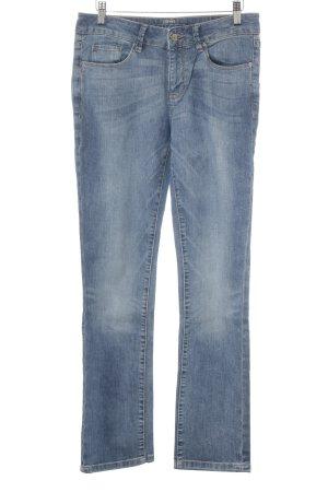 Esprit Straight-Leg Jeans kornblumenblau Casual-Look
