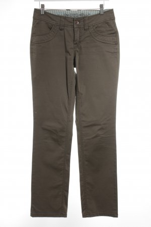 Esprit Straight-Leg Jeans olivgrün Casual-Look