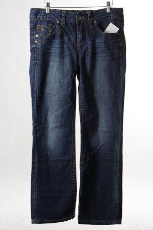 Esprit Straight-Leg Jeans stahlblau Casual-Look