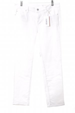 Esprit Vaquero rectos blanco look casual