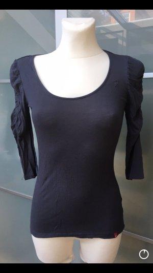Esprit Stretch 3/4 Shirt Basic antrazith