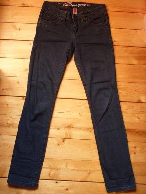 ESPRIT Stretch-Jeans dunkelblau