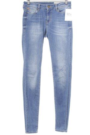 Esprit Stretch Jeans kornblumenblau Jeans-Optik