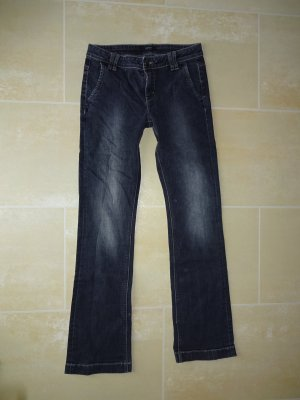Esprit Stretch jeans zwart-antraciet