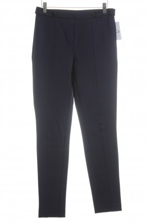 Esprit Stretch Trousers dark blue business style