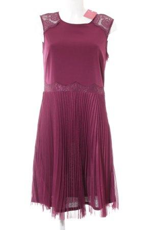 Esprit Stretchkleid purpur Elegant