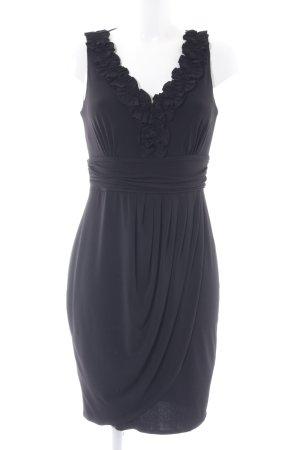 Esprit Stretchkleid schwarz Elegant
