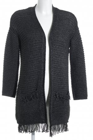 Esprit Strick Cardigan anthrazit Casual-Look