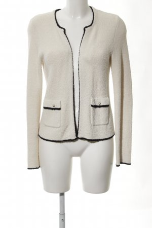 Esprit Strick Cardigan wollweiß-creme Business-Look