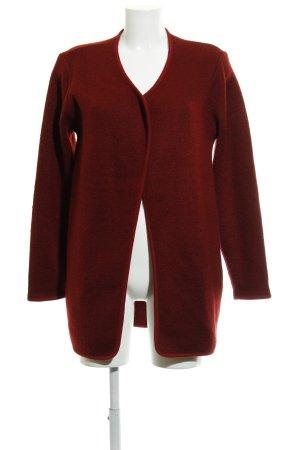 Esprit Cardigan in maglia carminio puntinato stile casual