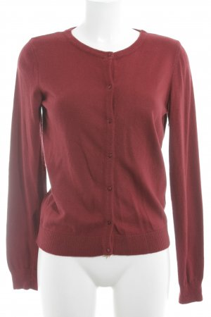 Esprit Strick Cardigan rot Casual-Look