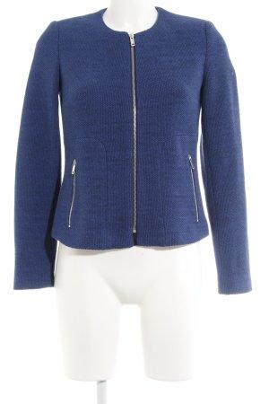 Esprit Blazer in maglia blu puntinato stile professionale