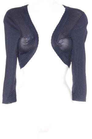 Esprit Bolero lavorato a maglia blu scuro stile classico