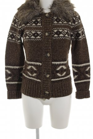 Esprit Strickjacke abstraktes Muster Casual-Look