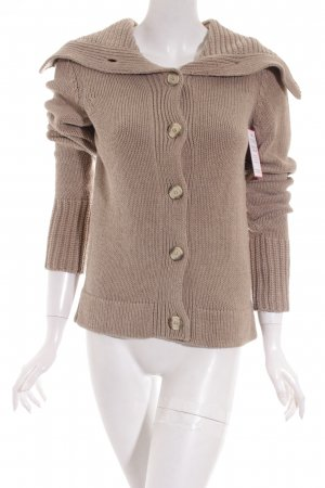 Esprit Strickjacke beige Casual-Look