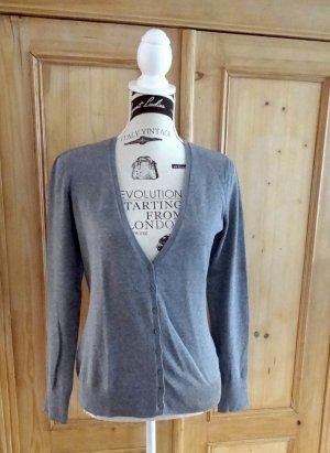 Esprit Cardigan tricotés gris clair coton
