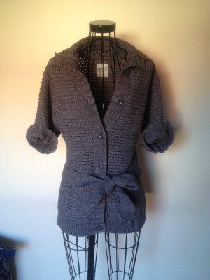 ESPRIT Strickjacke/Cardigan mit kurzen Ärmeln braun-khaki