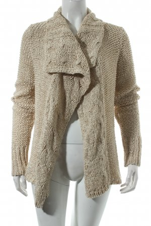 Esprit Strickjacke creme Casual-Look