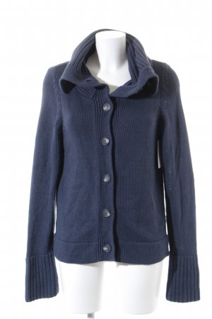 Esprit Strickjacke dunkelblau Casual-Look