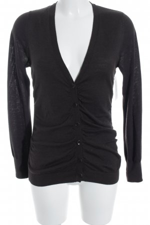 Esprit Strickjacke dunkelbraun Casual-Look