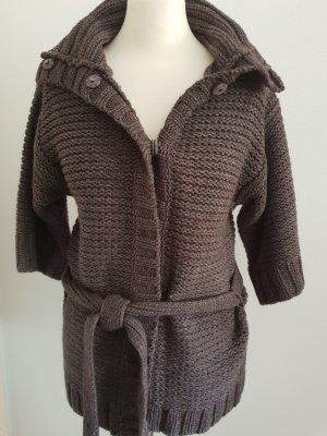 Esprit Strickjacke Gardigan Pullover Gr M Angora