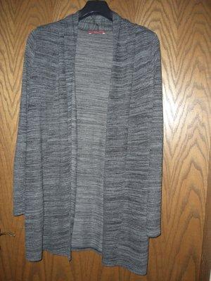 Esprit Strickjacke grau meliert, Größe M