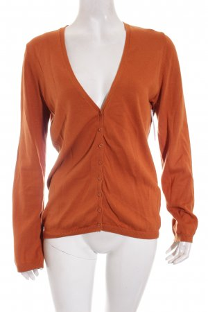 Esprit Strickjacke hellbraun Casual-Look
