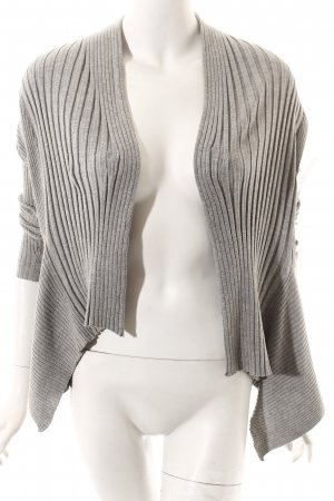Esprit Strickjacke hellgrau Casual-Look
