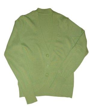 Esprit Strickjacke Jacke Jäckchen Baumwolle grün Gr. 38 40 M neu