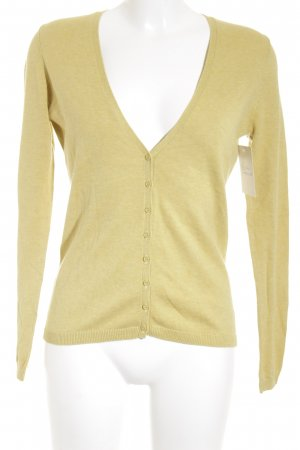 Esprit Strickjacke limettengelb Casual-Look