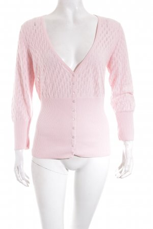 Esprit Strickjacke rosa Romantik-Look