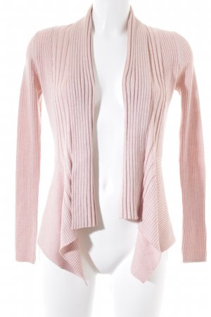 Esprit Strickjacke rosa-wollweiß meliert Casual-Look