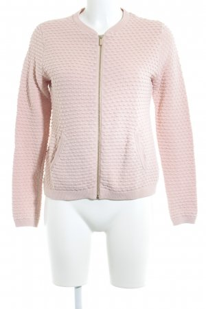 Esprit Strickjacke rosé Punktemuster Casual-Look