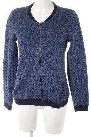 Esprit Giacca in maglia nero-blu stile casual