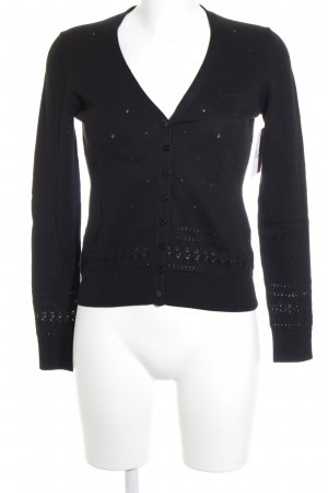 Esprit Strickjacke schwarz Casual-Look