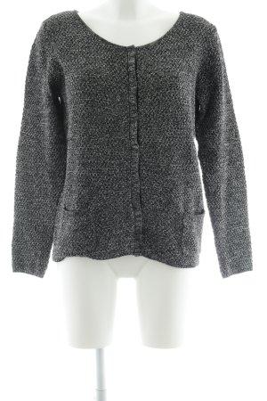 Esprit Strickjacke schwarz-silberfarben Elegant