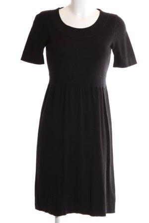 Esprit Gebreide jurk zwart zakelijke stijl