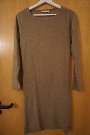 Esprit Gebreide jurk beige-camel